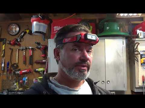 Milwaukee 2111-21 LED Hardhat Headlamp Kit