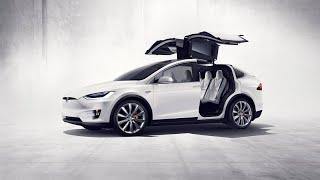 Tesla Model X bleibt liegen beim Community Treffen am Supercharger Rüden
