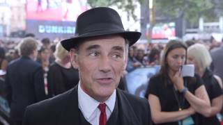 Mark Rylance interview at the Dunkirk world premiere