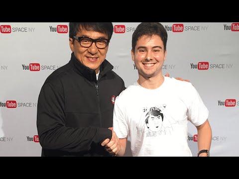 White Guy Shocks Jackie Chan With Perfect Mandarin