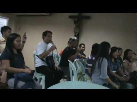 Let the Heaven Rejoice - practice - El Shaddai Gospel Music Ministry w/ youth Gospel Choir