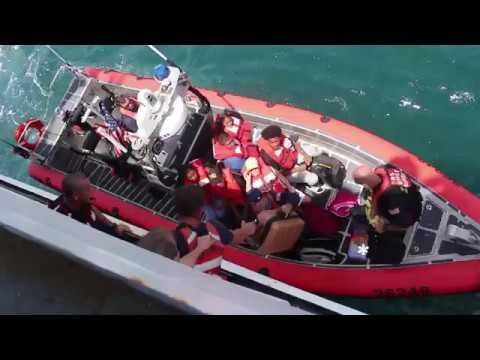 Coast Guard evacuates 99 people, 13 pets from St. Thomas, U.S. Virgin Islands
