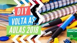 DIY - VOLTA AS AULAS 2018: UM CADERNO SÓ SEU!