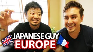 Japanese Guy Prepares to Visit Europe