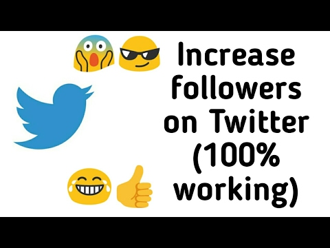 (100% working 2018) How to increase twitter followers on Android for FREE    With proof 👍😊