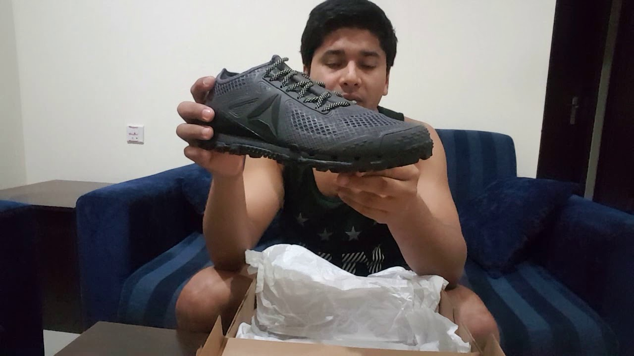 Reebok all terrian super 3.0 shoes unboxing