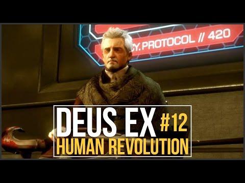 Deus Ex: Human Revolution Stealth Walkthrough - Episode 12, Panchaea