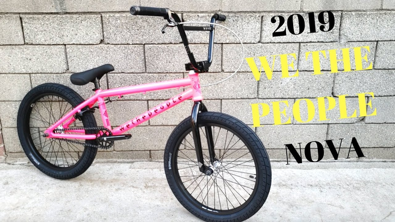 2019 WE THE PEOPLE Nova Bubblegum BMX Bike Check - NEW