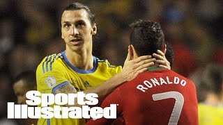 Zlatan Ibrahimovic talks Man Utd, Ronaldo and elusive Champions League title | SI Now