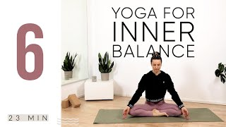 Yoga for inner balance [Yoga für Anfänger] Yoga Morgenroutine | Meditation flow