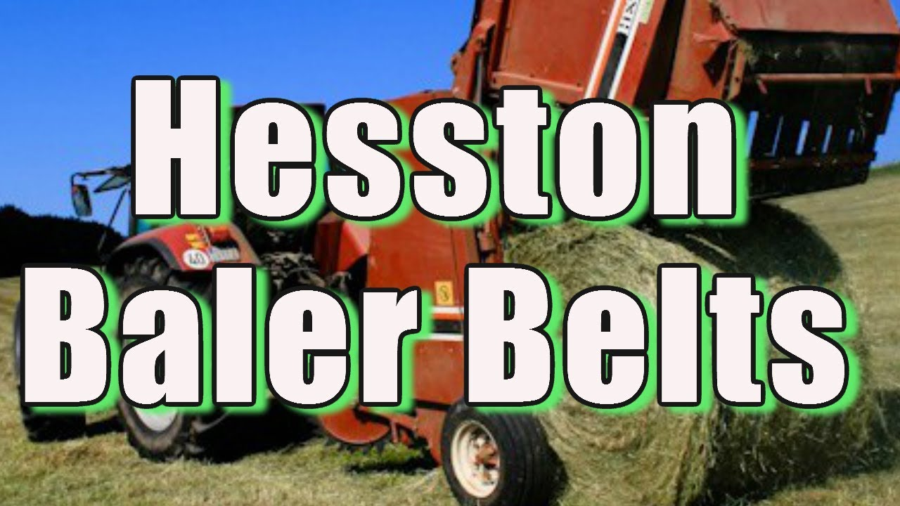 Hesston 5540 round baler belts lowest price