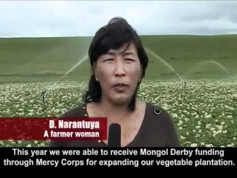 Farming Family Business Expansion - Mongol Derby Funded Grant - Mercy Corps Mongolia