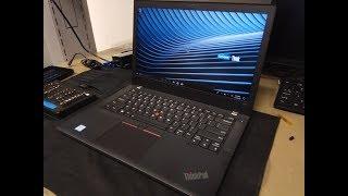Lenovo ThinkPad T480 Unboxing Teardown
