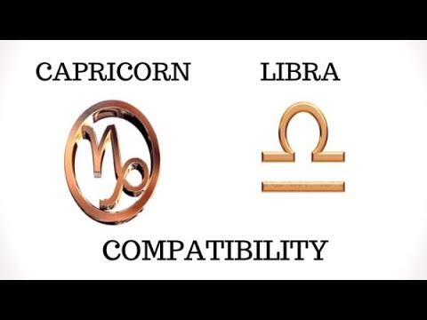 Capricorn and Libra Compatibility