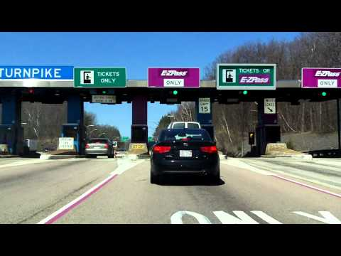 Massachusetts Turnpike (Interstate 90 Exit 10) outbound
