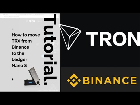 How to move Tron to your Ledger Nano S