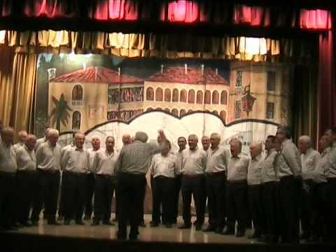 Voici venir la nuit Canto popolare Val d'Aosta / Arm. Coro Monte Cauriol