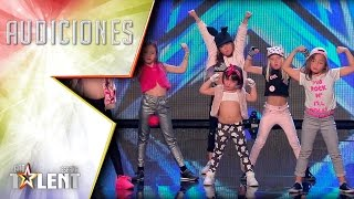 ¡Pequeñas pero matonas! | Audiciones 3 | Got Talent España 2017
