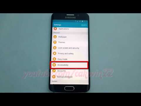Android Lollipop : How to enable or disable Turn off all sound on Samsung Galaxy S6