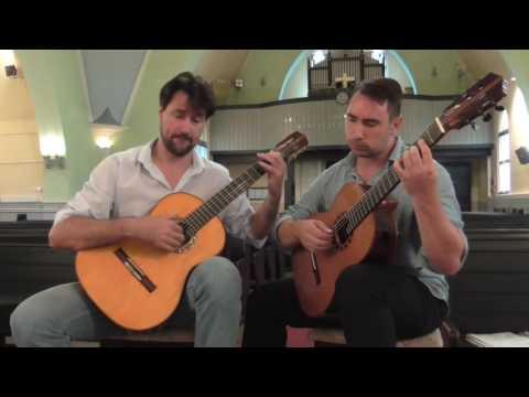 Stanley Myers: Cavatina played by Draskóczy-Fülöp guitar duo