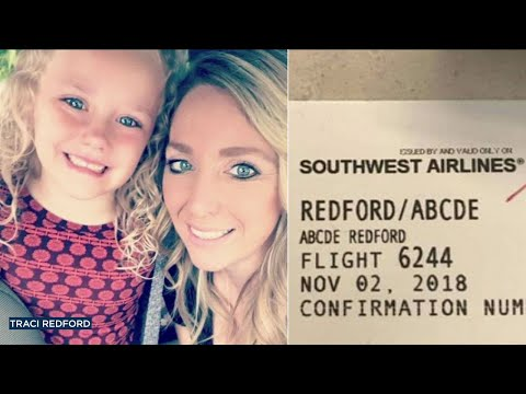 Mother of Abcde Redford says Southwest Airlines agent shamed her daughter for her name