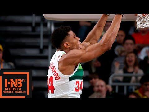 Milwaukee Bucks vs Detroit Pistons Full Game Highlights | 01/01/2019 NBA Season