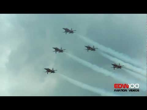 ✈ Patrouille Suisse 2012 Display in fullHD!