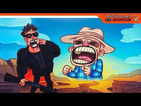 💾 СЕКРЕТНЫЙ УРОВЕНЬ + ФИНАЛ / КОНЦОВКА  - Troll Face Quest USA Adventure 2