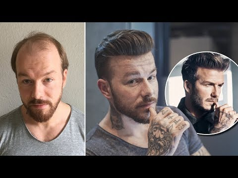 Spring & Summer Hair Trend 2018 | David Beckham Hairstyle Transformation  | Hairsystems Heydecke