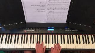 Der Winter ist da - Kinderlieder am Klavier / SEHR LEICHT