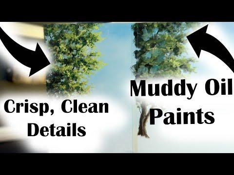 Drying Oil Paint in MINUTES! Pro Secret Art Lesson