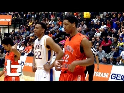 Jabari Parker (#2 Simeon) vs. Jahlil Okafor (#1 Whitney Young) in Chicago HS Game of the Year!