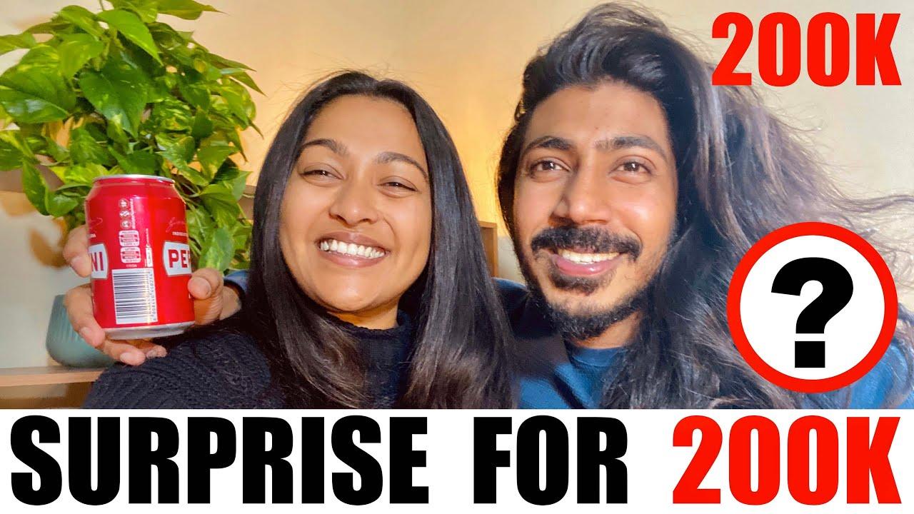 200K Celebration 🍾    200K වෙනුවෙන් B12 Family එකට Surprise එකක්😍