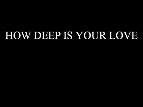 Keith Sweat How Deep Is Your Love (lyrics)