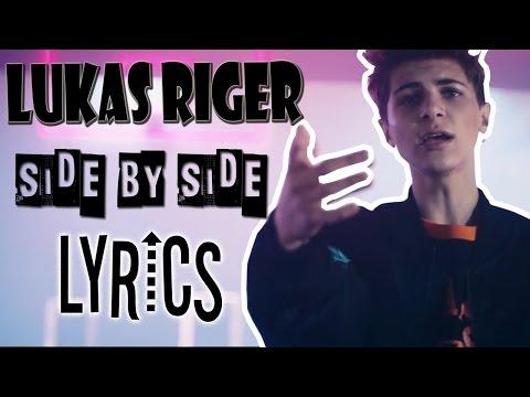 Lukas Rieger Side By Side | LYRICS (Video)