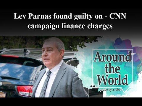 Ex-Giuliani associate Parnas guilty of 'influence buying'