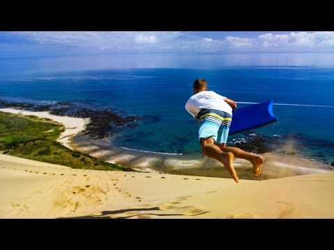 Sandboarding Supertramp Style - Play On in New Zealand! in 4K! | DEVINSUPERTRAMP