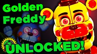 The Quest for Hidden Scenes and GOLDEN FREDDY! | SISTER LOCATION CUSTOM NIGHT