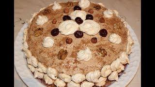 Готовим Вкусный Густой Крем для Торта и его Украшение