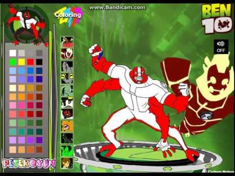 เกมส์ระบายสีเบนเทน Coloring Ben10 game