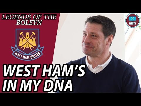 'West Ham's In My DNA' An interview with Tony Cottee | Legends Of The Boleyn