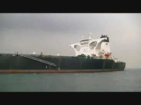 Indonesian Malacca Straits Pilot Transfer with harness
