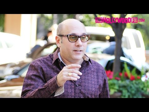 Willie Garson Greets  While Waiting For His Car At The Four Seasons Hotel 1.8.16