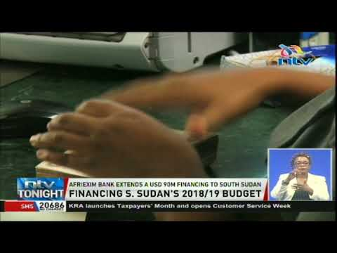 AFRIEXIM Bank extends a usd 90 million financing to South Sudan