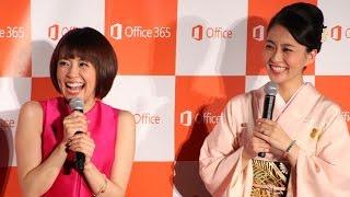 小林麻耶・麻央、約3年半ぶり姉妹そろい踏み  「New Office 発売記念イベント」(1)