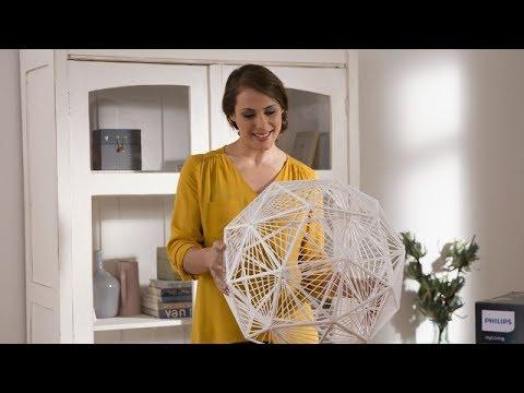 Philips Smart Pendant design lamp Chiffon