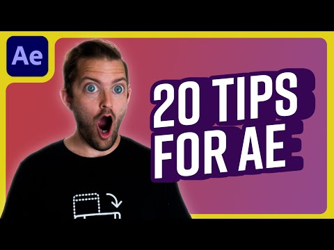 20 Tricks in After Effects for 2020