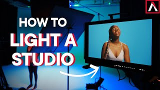 How to Light a Film Studio with Novas | Stage Lighting Explained