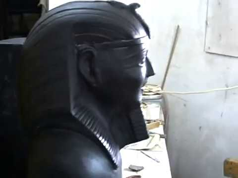 carving basalt stone and granite by wagdy fathy in egypt(peter.pavly@yahoo.com.AVI