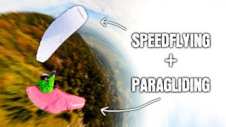 What Happens When Y๐u Merge PARAGLIDING and SPEEDFLYING